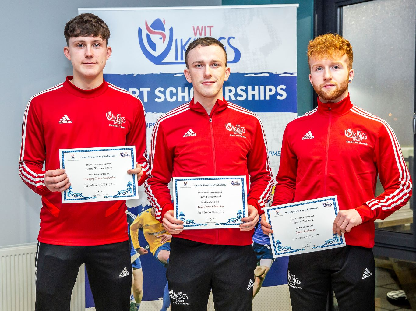 Sport scholarship: Aaron Tierney Smith