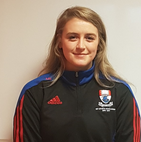 Sports scholarship recipient Aine Byrne