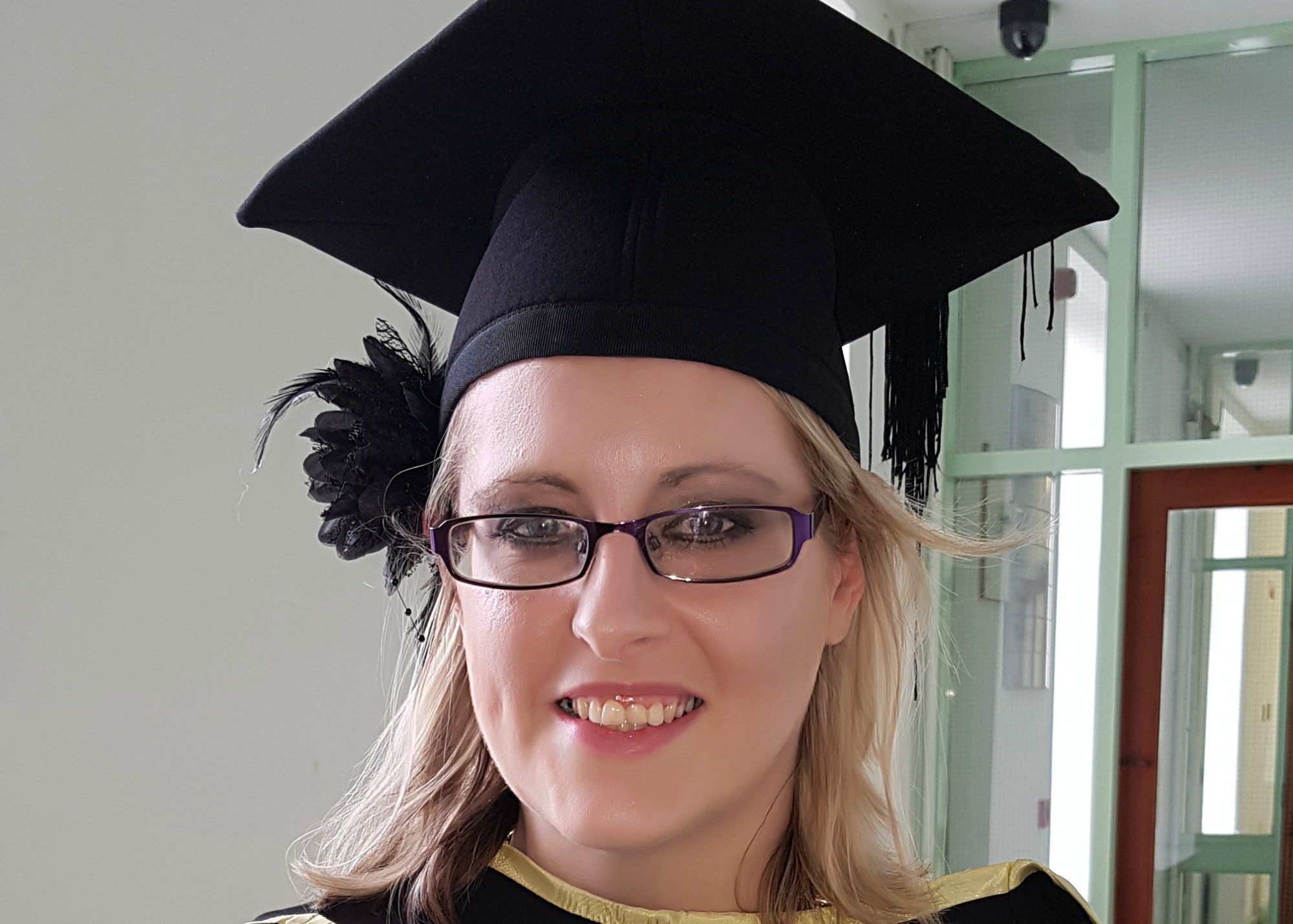 Pictured is Aisling O'Driscoll who gained employment in a solicitor's office upon graduation