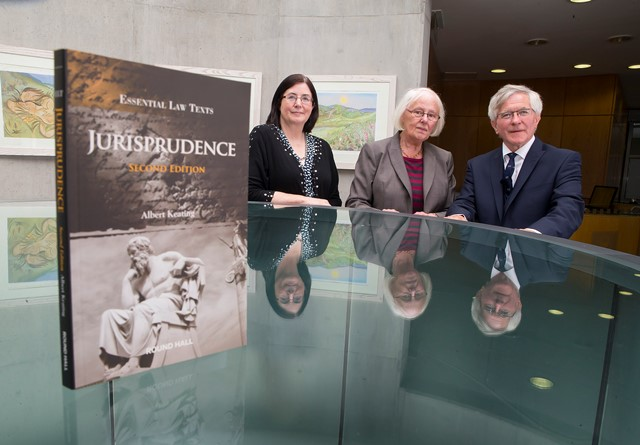 Bernadette Cahill, former President of Waterford Law Society, The Honourable Ms. Justice Mary Laffoy, Judge of the Supreme Court and Dr. Albert Keating