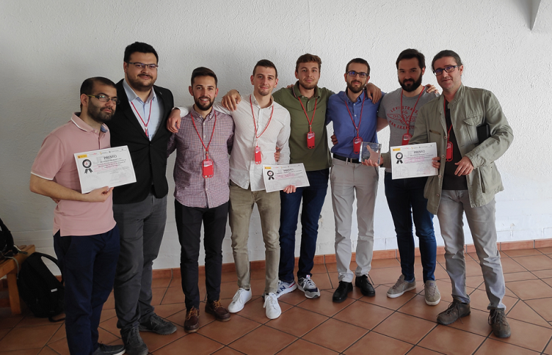 Dr. Huertas Celdrán shares these awards with a team of Researchers from University of Murcia