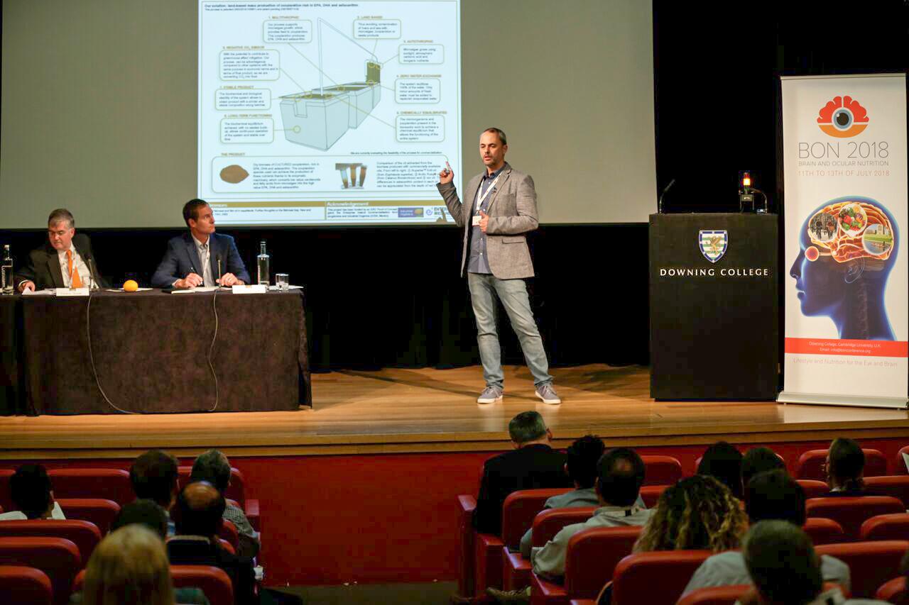 Dr Alfonso Prado-Cabrero presenting at BON