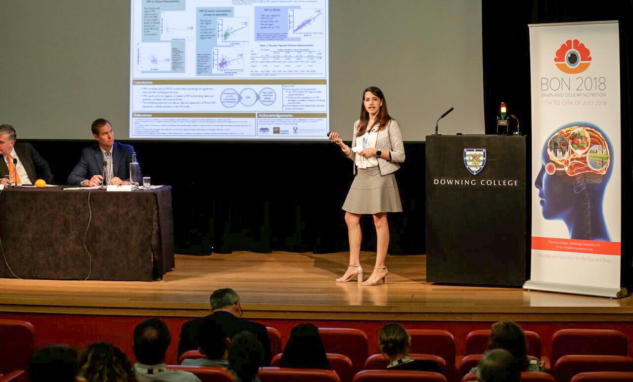 Dr Marina Green-Gomez presenting at BON