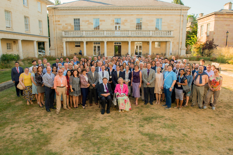Attendees of the BON Conference in Downing College, Cambridge, chaired by Prof John Nolan of the Nutrition Research Centre Ireland