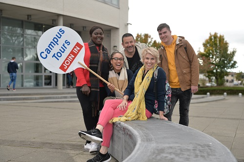 Prospective students are recommended to avail of a campus tour at the WIT campus before choosing their third-level course
