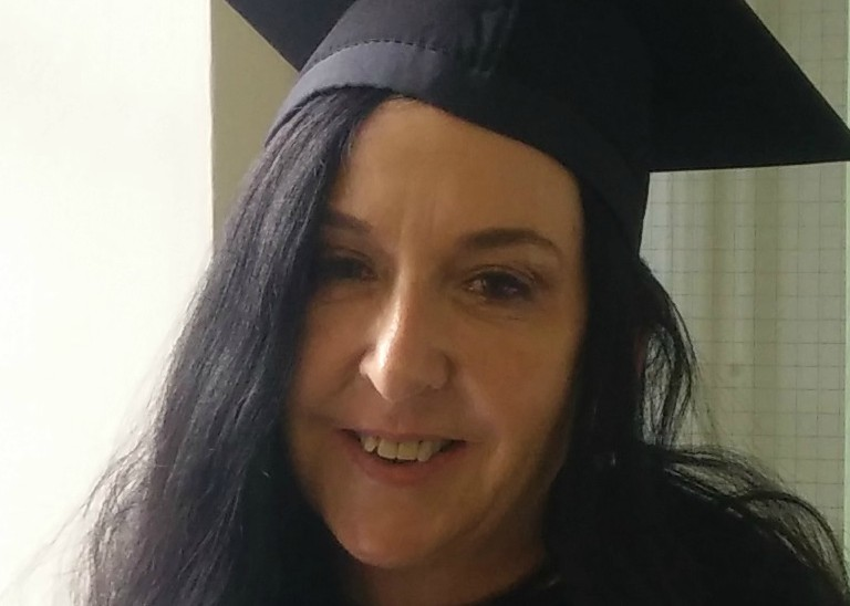 Pictured is Caroline Walsh who started a Master in Sociology by Research following graduation of Bachelor of Arts (Hons)