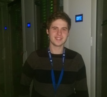 Applied Computing student, Chris Buggy