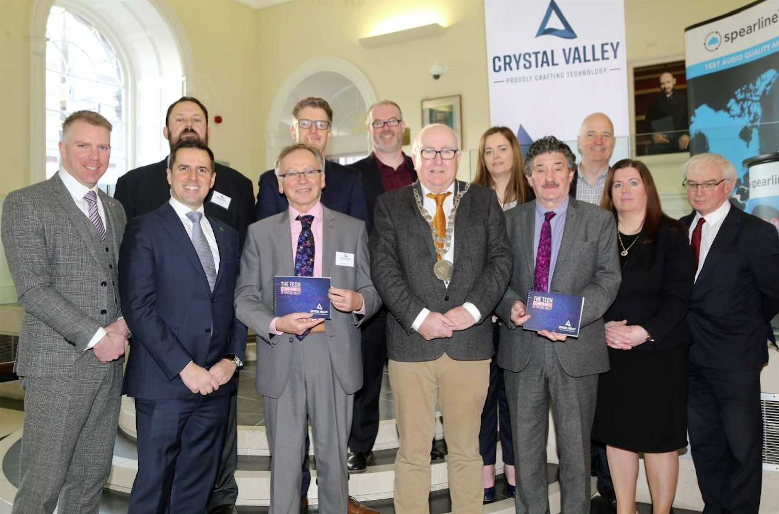 Formal launch of Crystal Valley Tech in Waterford on 26 February 2018