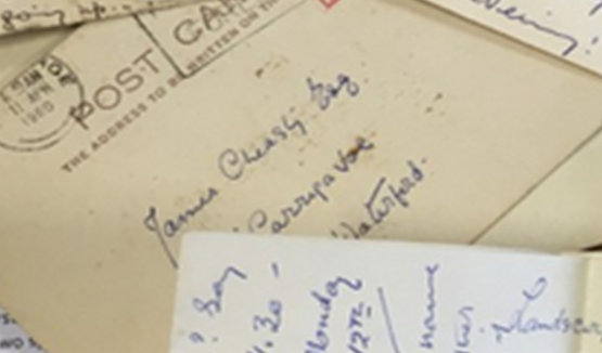 The letters from Deevy to Cheasty, which were donated to WIT in 2016 by the family of the late James Cheasty, are a unique and important discovery to Irish theatre scholars.