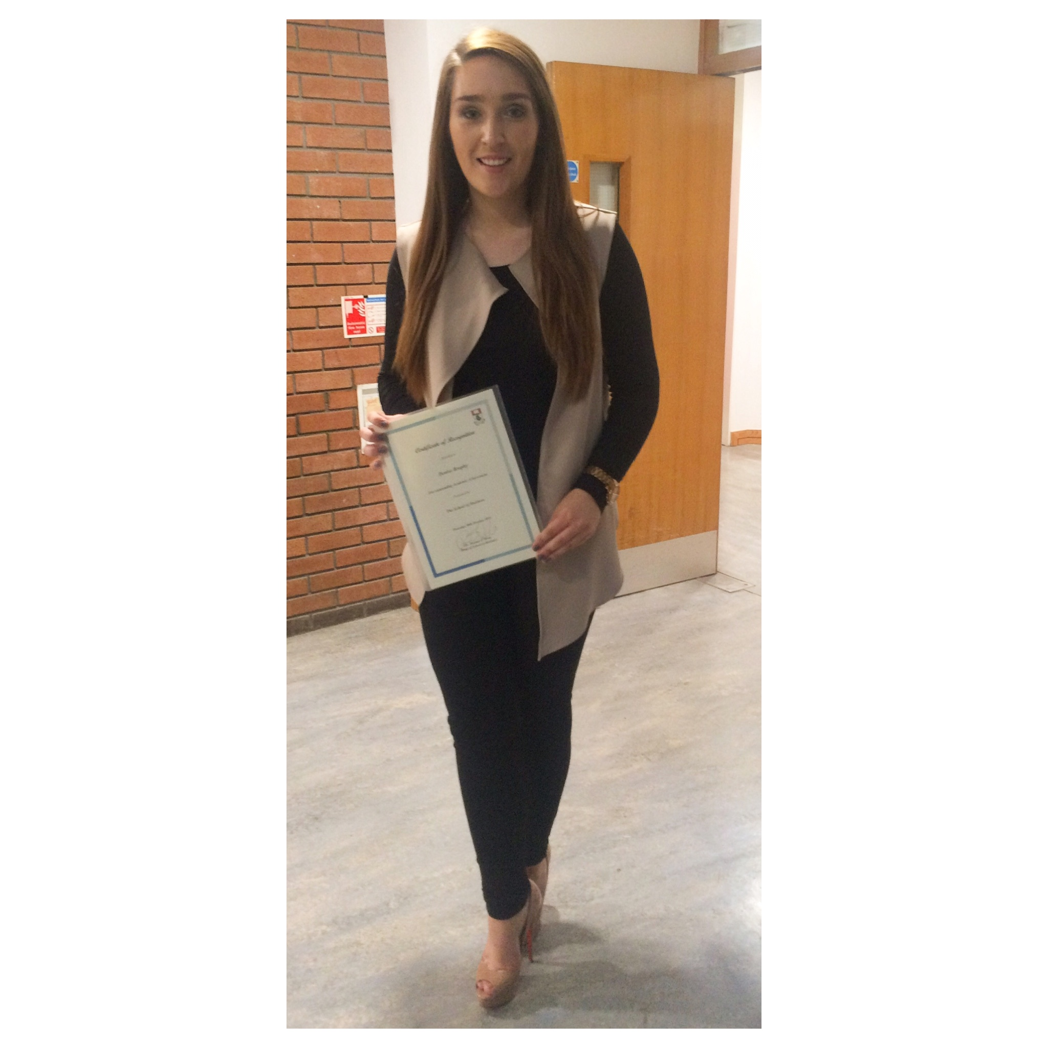Denise Brophy, Bachelor of Science in Retail Management (WD184)