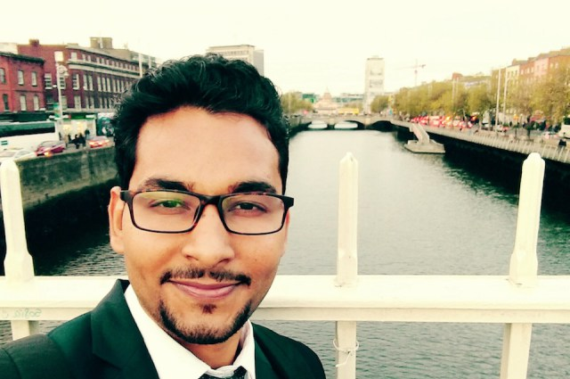 Masters of Business in Marketing graduate, Dinesh Choudhary