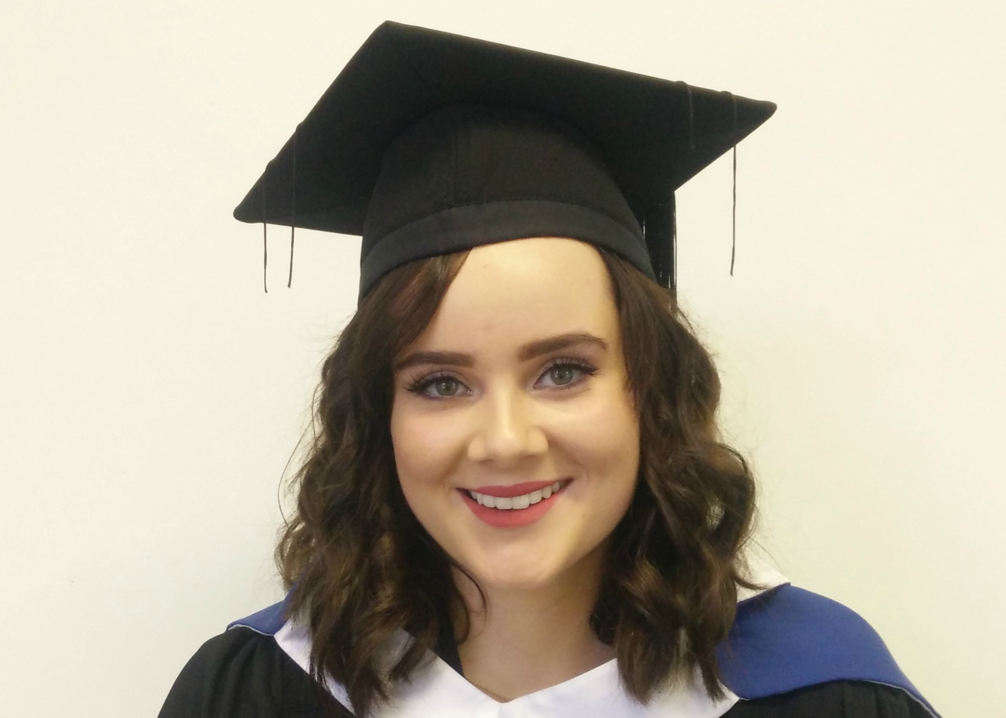 Pictured is Emer Eleanor, Walsh Rutherford who started out with the BSc in Multimedia Applications Development before progressing on to the BSc (Hons) in Creative Computing