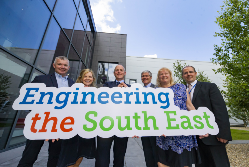Martin Stapleton CDS Architectural Metalwork, Lily Holmes, Burnside Group, Michael Carbery, new chair of 'Engineering the South East' & Keenan Alltech, Edmond Connolly South East Regional Skills Forum, Carrie Rockett, Integer,  Liam Hore, Waters Technologies