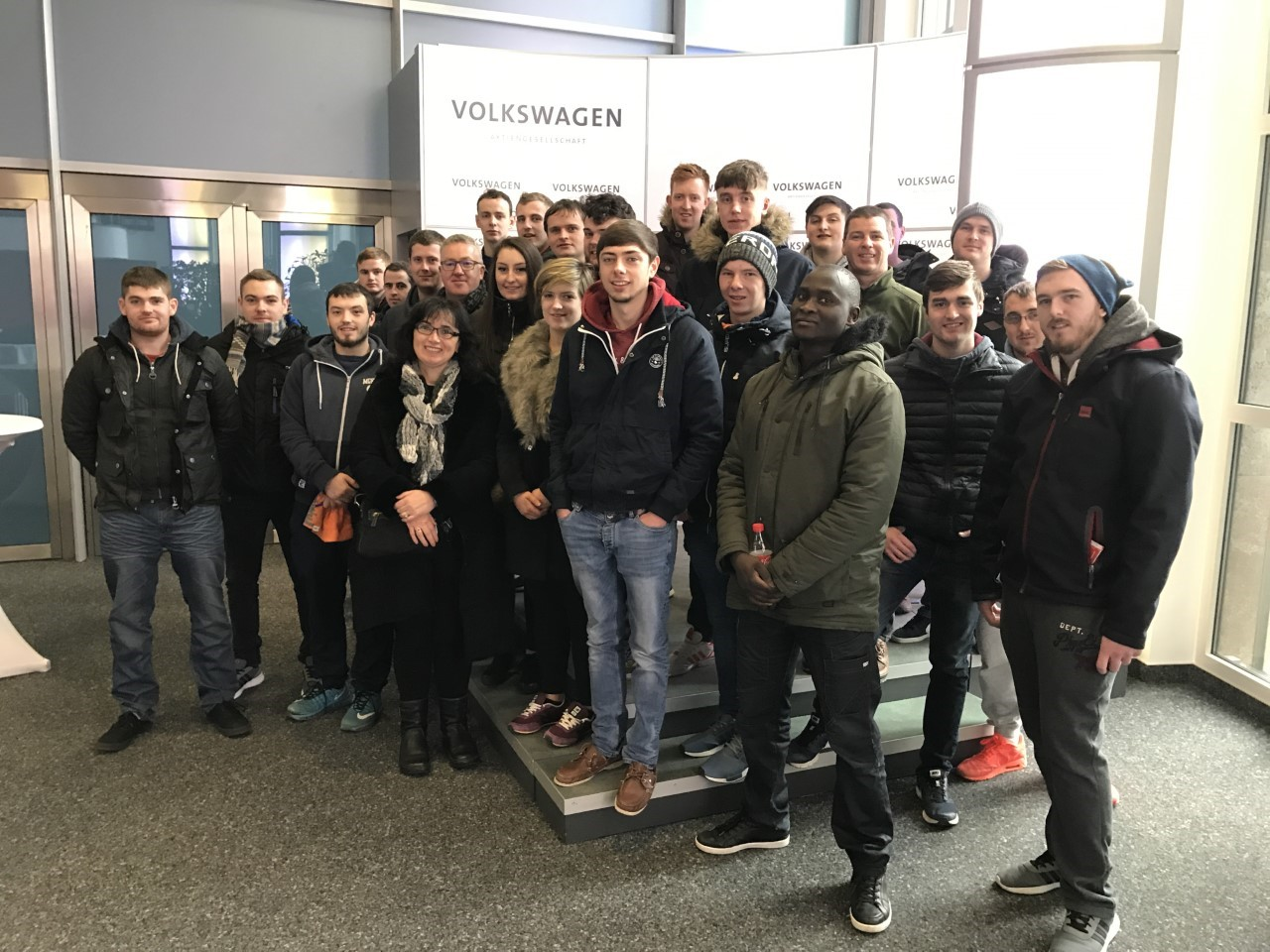 Staff and students from the BEng (Hons) in Mechanical & manufacturing Engineering course at WIT