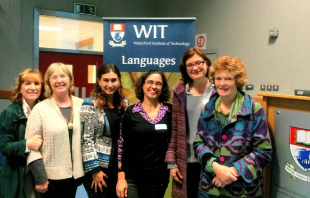 In Picture L-R:  Iciar O'Shea, Dr Rossanna Molloy, Ed.D Angelica Cisneros (Event Coordinator), Monica Kent, Catherine Lacoste and Dr Fionnuala Kennedy.