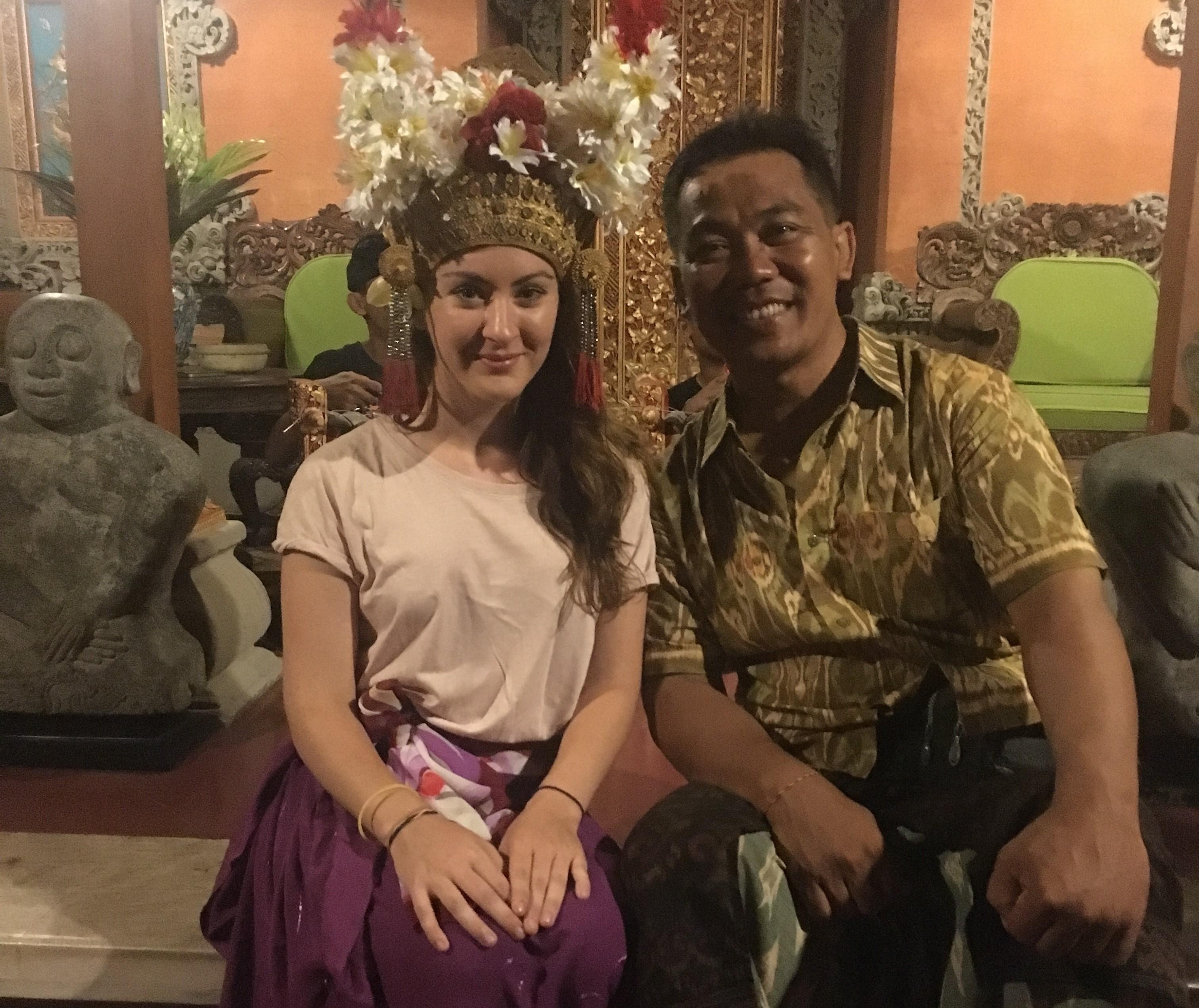 Gemma Myles on her travels in Bali