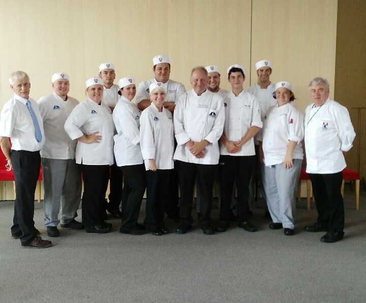 Pictured at WIT are culinary students at Georgia Northwestern Technical College in Rome, Georgia
