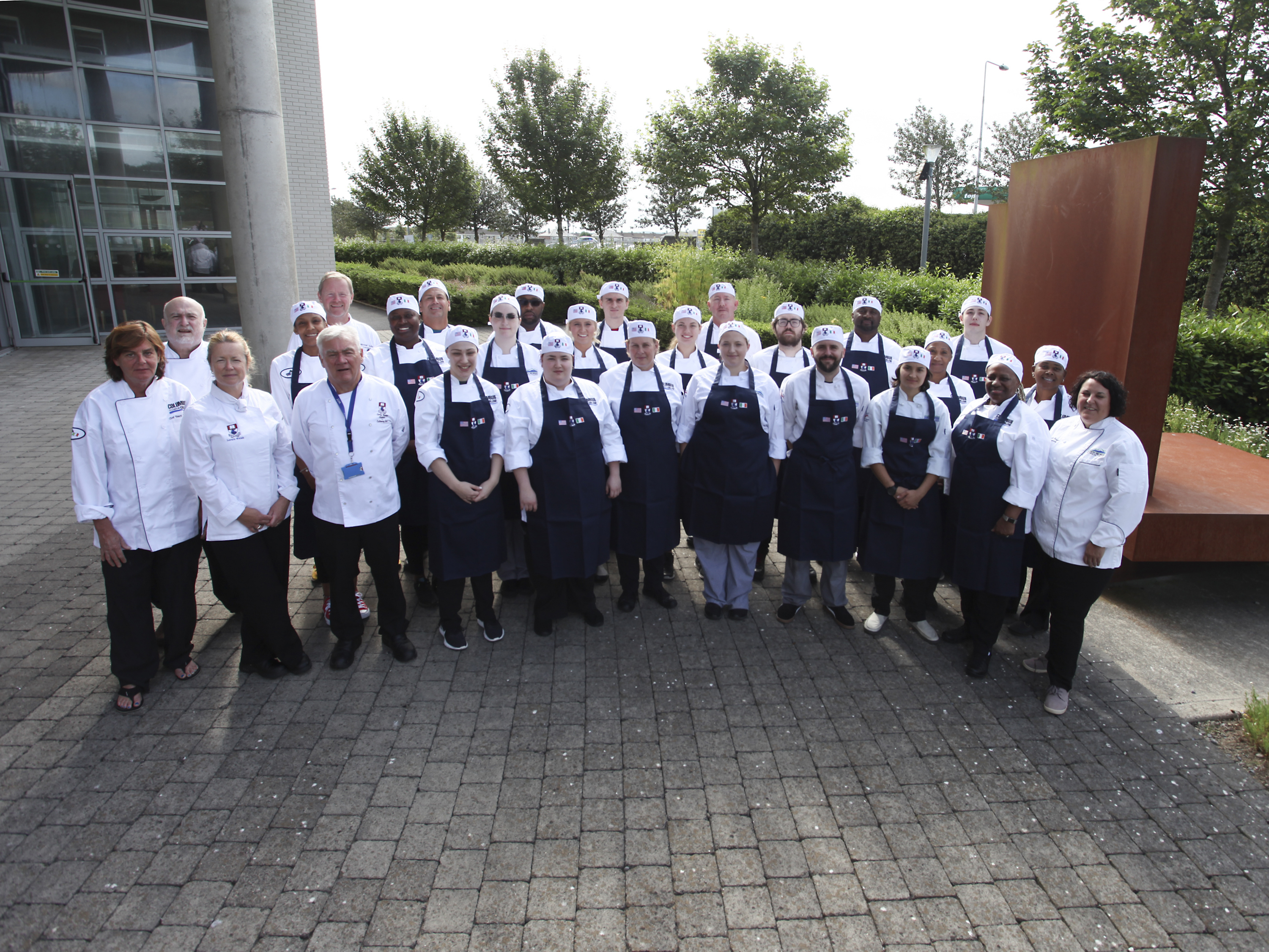 Pictured are the Culinary lecturers and students from Columbus Georgia and North Georgia Technical College, included are WIT culinary lecturers, Tony Barry (course director), Lorain Walsh and Michael Quinn.  Photo: George Goulding