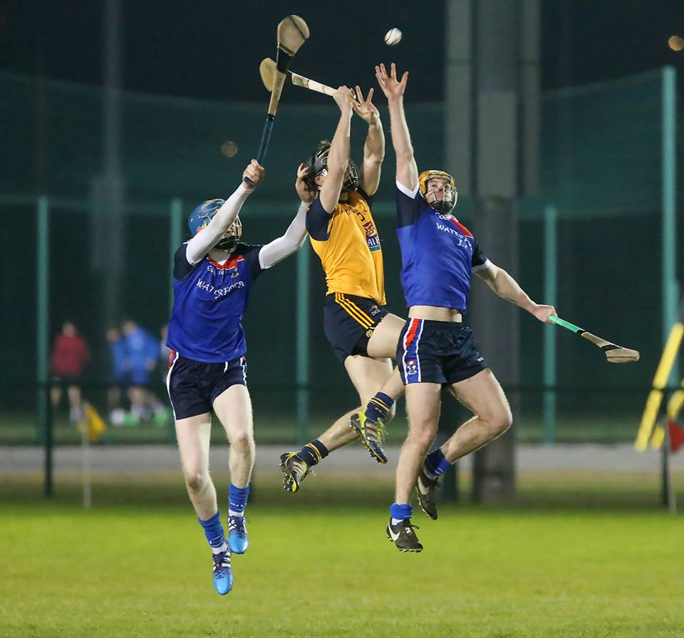 WIT Hurlers in action