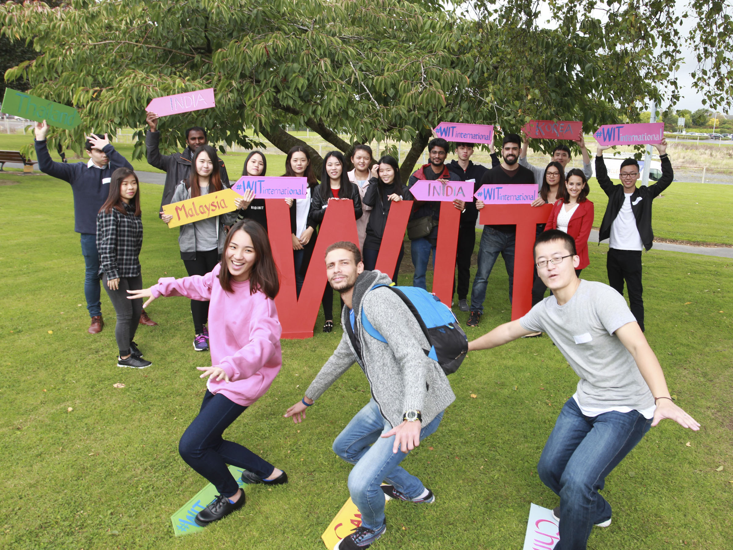 International students settling in at WIT during induction