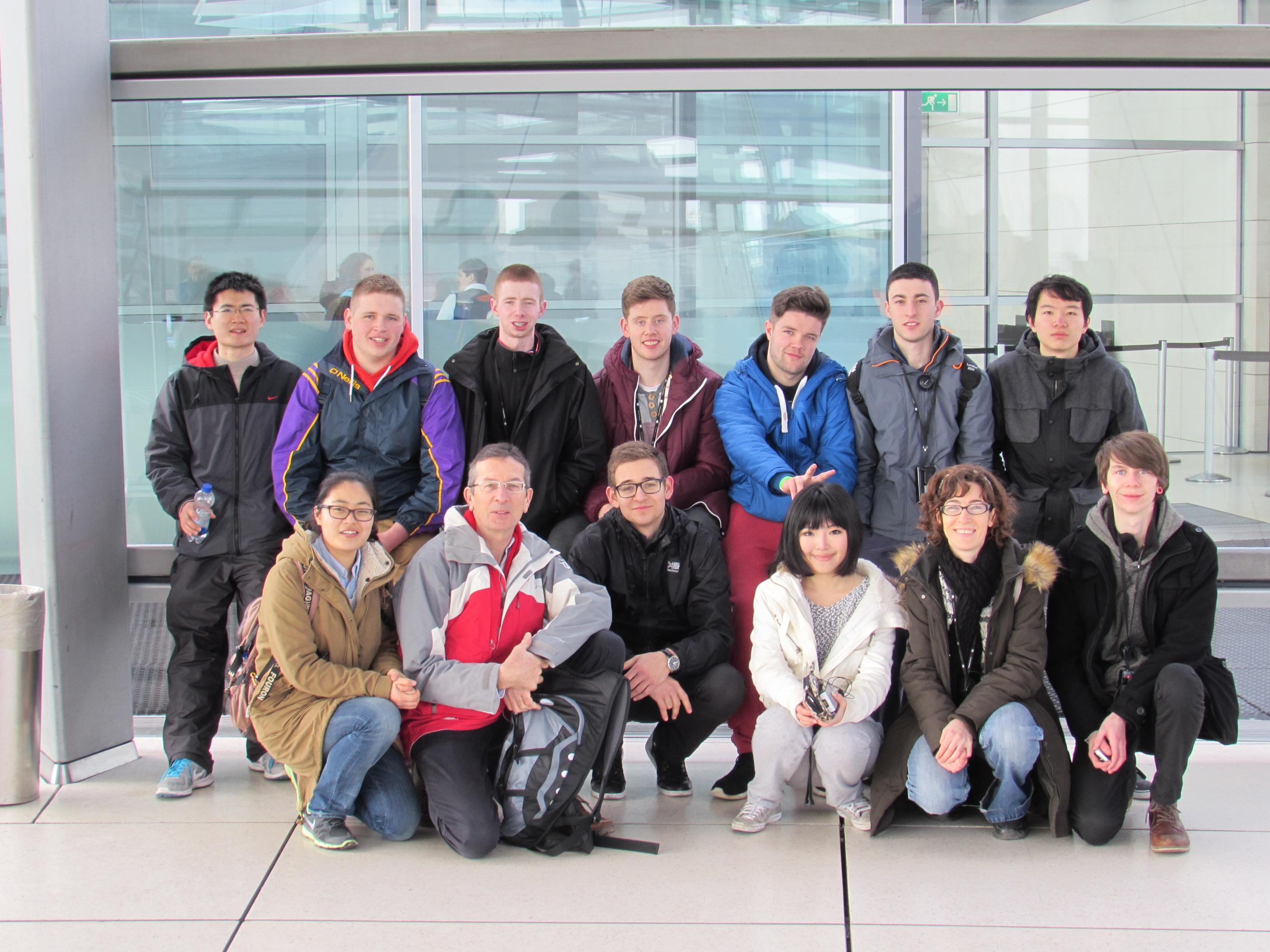2nd Year BSc QS & BSc CME students visiting Berlin as part of a study trip.