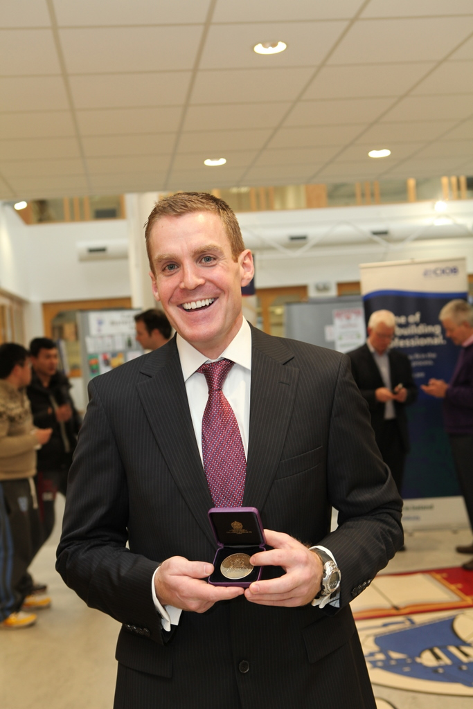 Cormac Hickey WIT CIOB Student of the Year 2011
