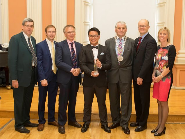 Ger Long, John Joe O'Farrell, Prof Willie Donnelly, Jeft Tham, Councillor James Tobin, Tom O'Toole and Sinéad Day