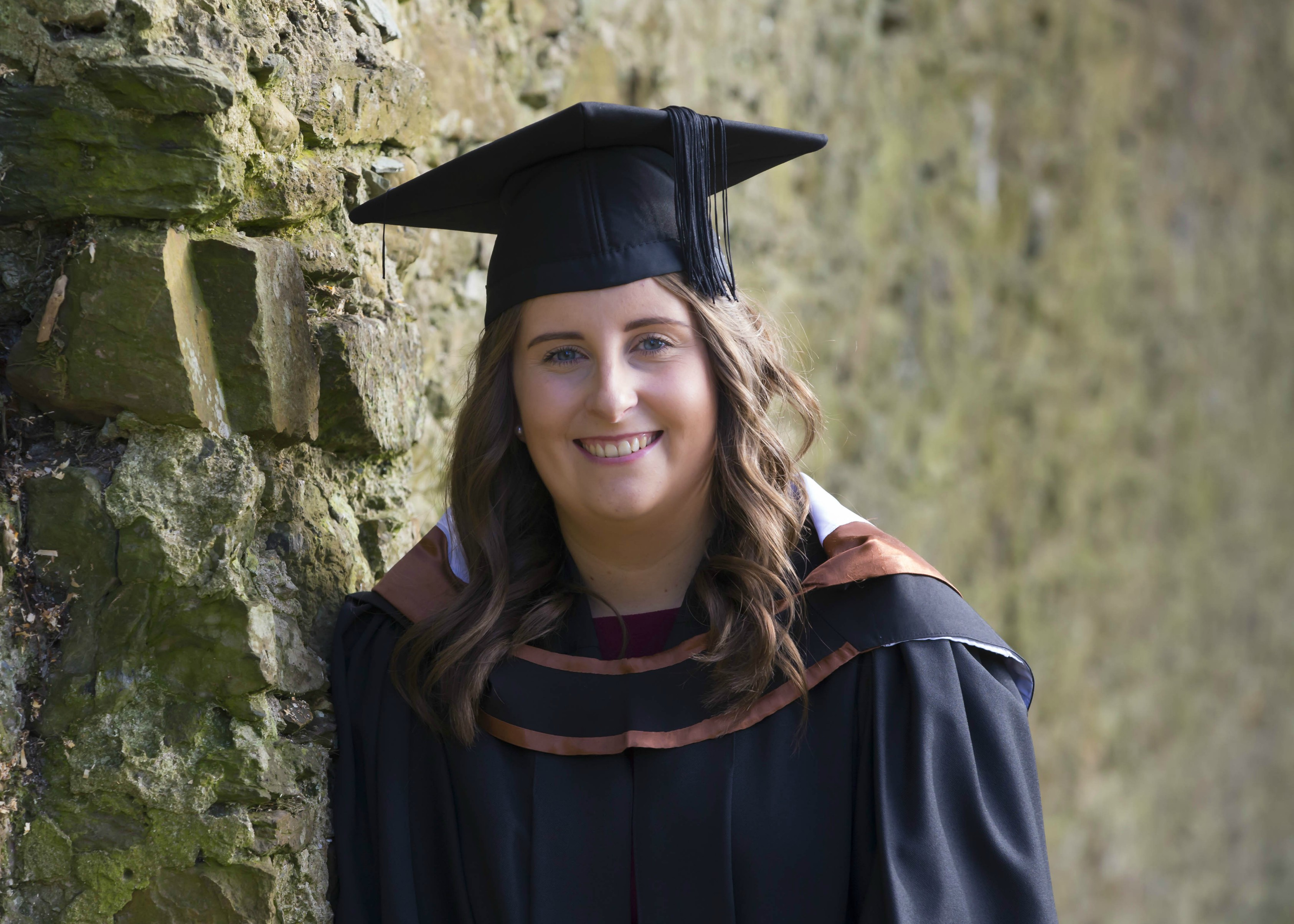 Pictured is graduate of Bachelor of Business (Hons) Jessica Norton