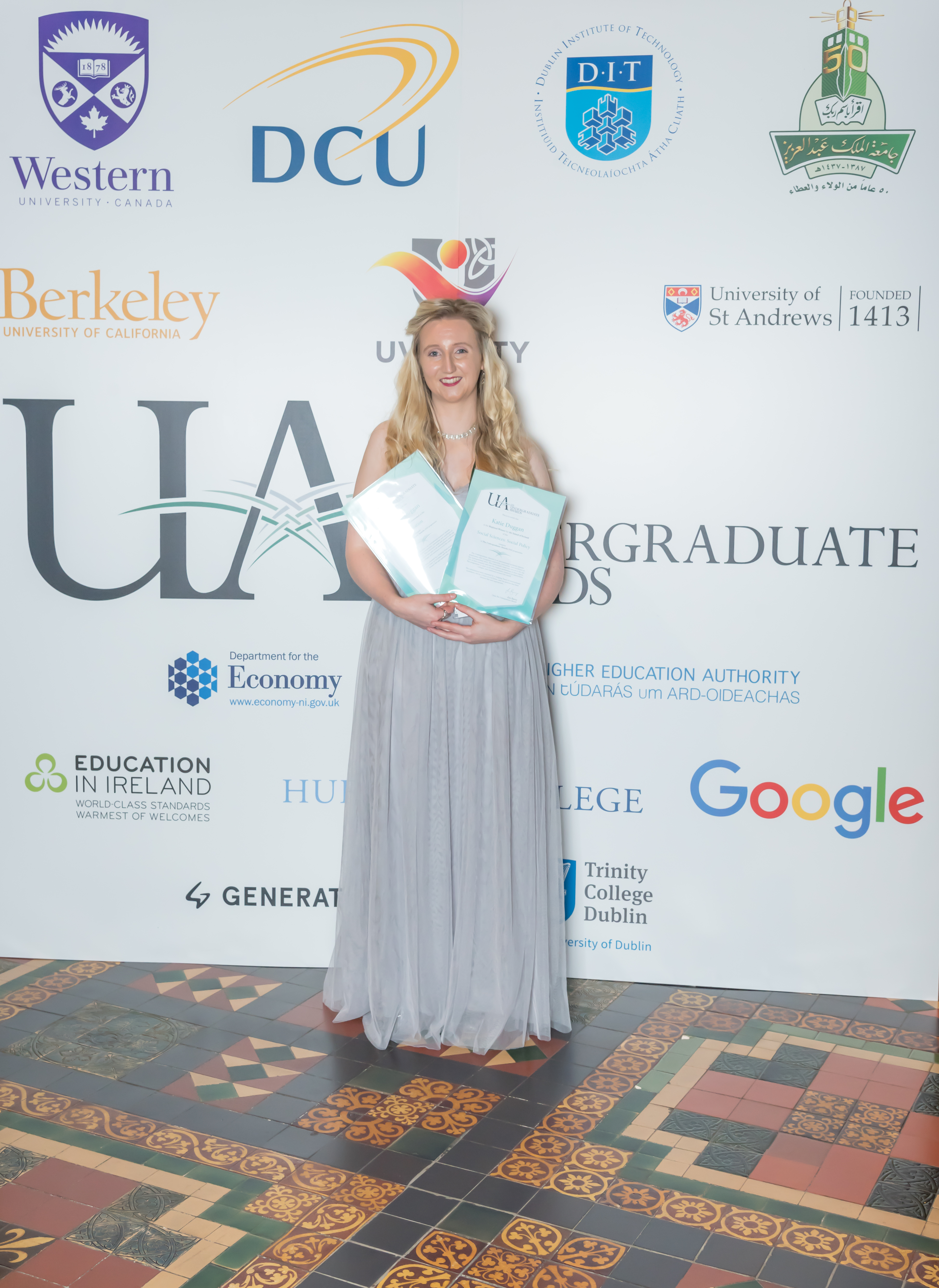 WIT student Katie Duggan named Regional Winner for the Island of Ireland as well as being highly commended by The Undergraduate Awards