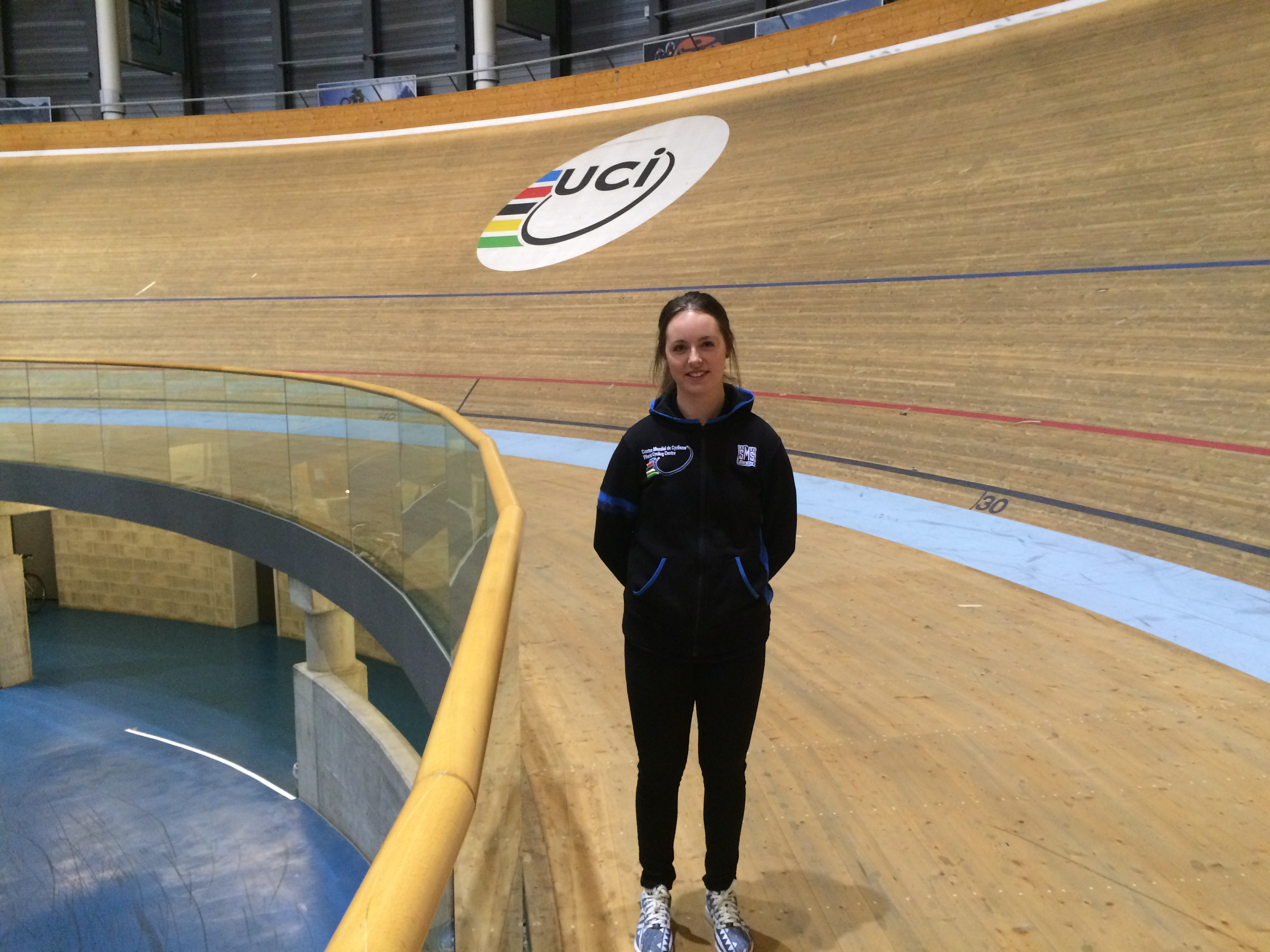 Lauren Gourlay on her internship in Switzerland at the UCI World Cycling Centre
