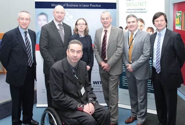 Prof Denis Harrington, Dr Richard Keegan, Dr Martina Goldring, Noel Hennessey, Mr Darrin Taylor, Mr Dermot O'Neill, Mr Aidan Walsh