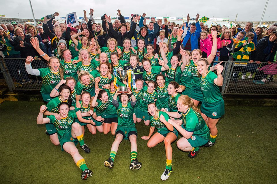 Meath Celebrate Intermediate Camogie All Ireland win