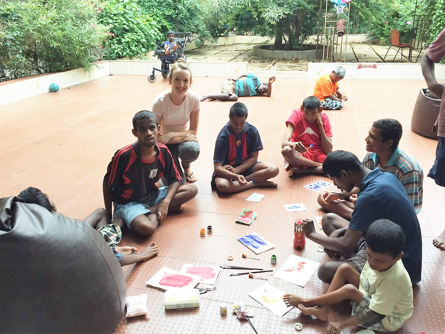 WIT student Dervla Deacon volunteered with development and volunteering organisation SERVE for one month of the summer holidays in Bangalore, India