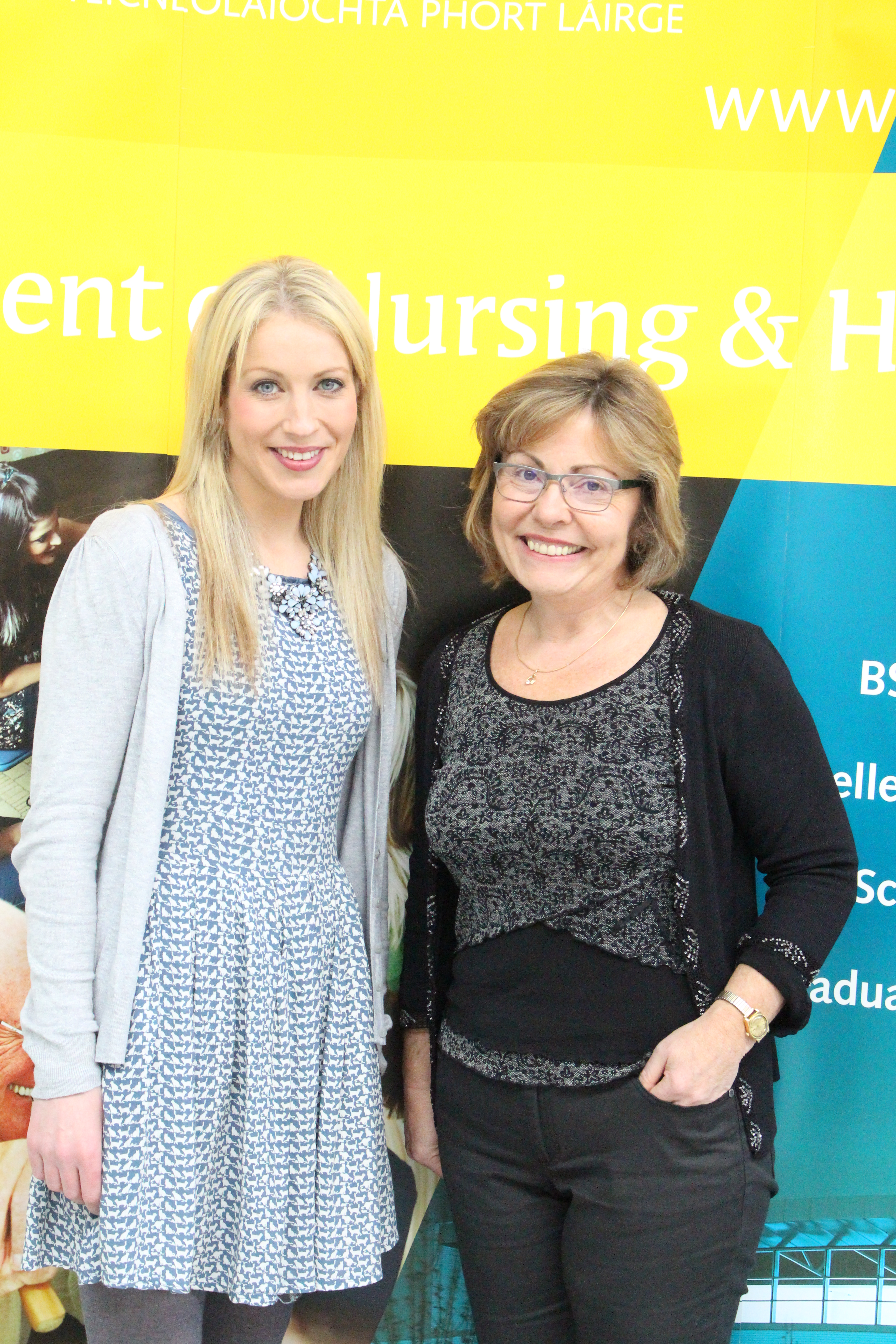 Ms Dawn Smyth and Dr Paula Lane, Lecturer, Department of Nursing and Applied healthcare, School of Health Sciences