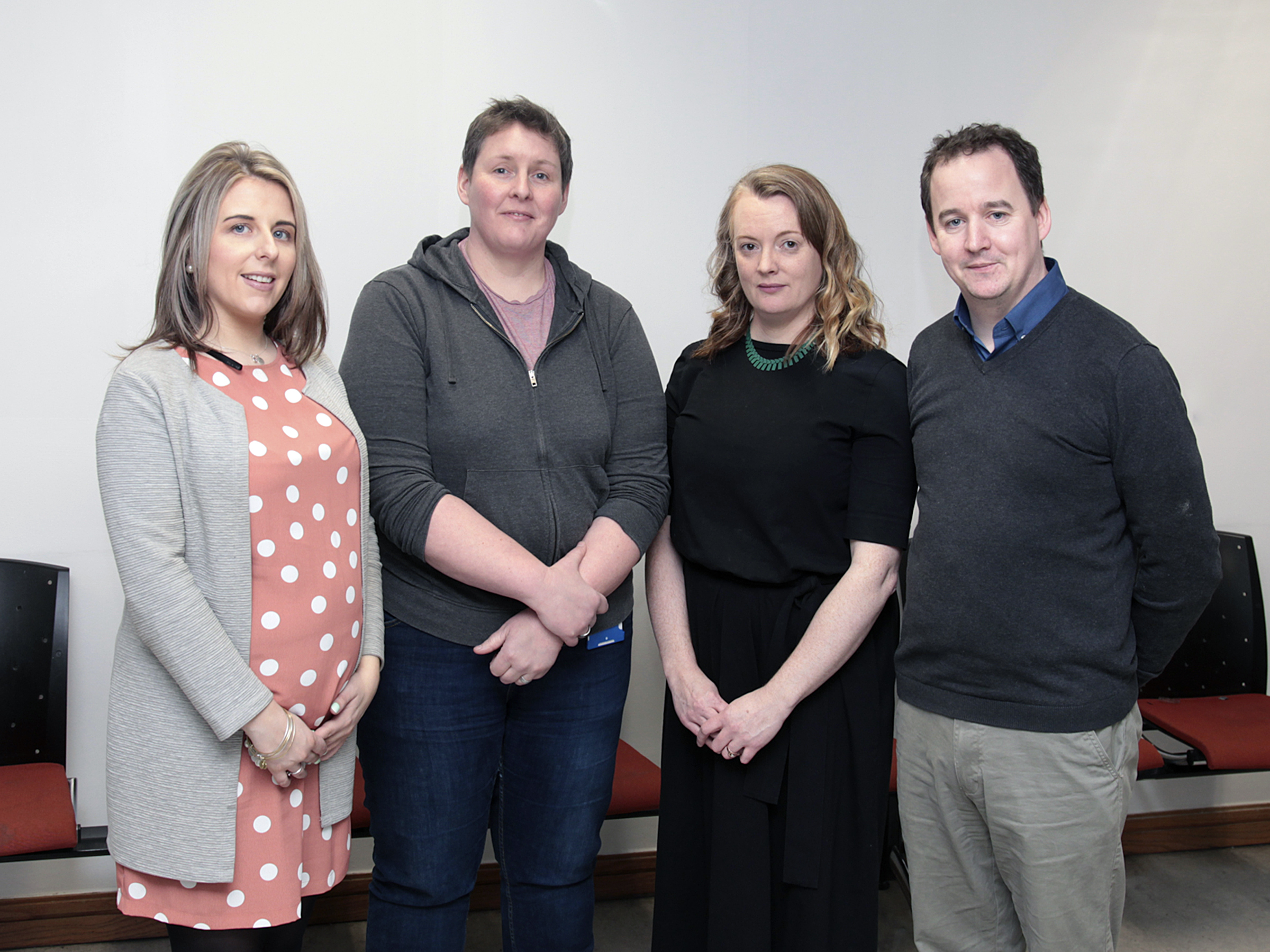 Pictured are: Lauren Traynor (Executive Project Director of the Waterford Viking Triangle), Dr Cara Daly, (WIT Lecturer), Dr Susan Connolly (WIT Lecturer), Dr Séamus Dillon (WIT Lecturer)