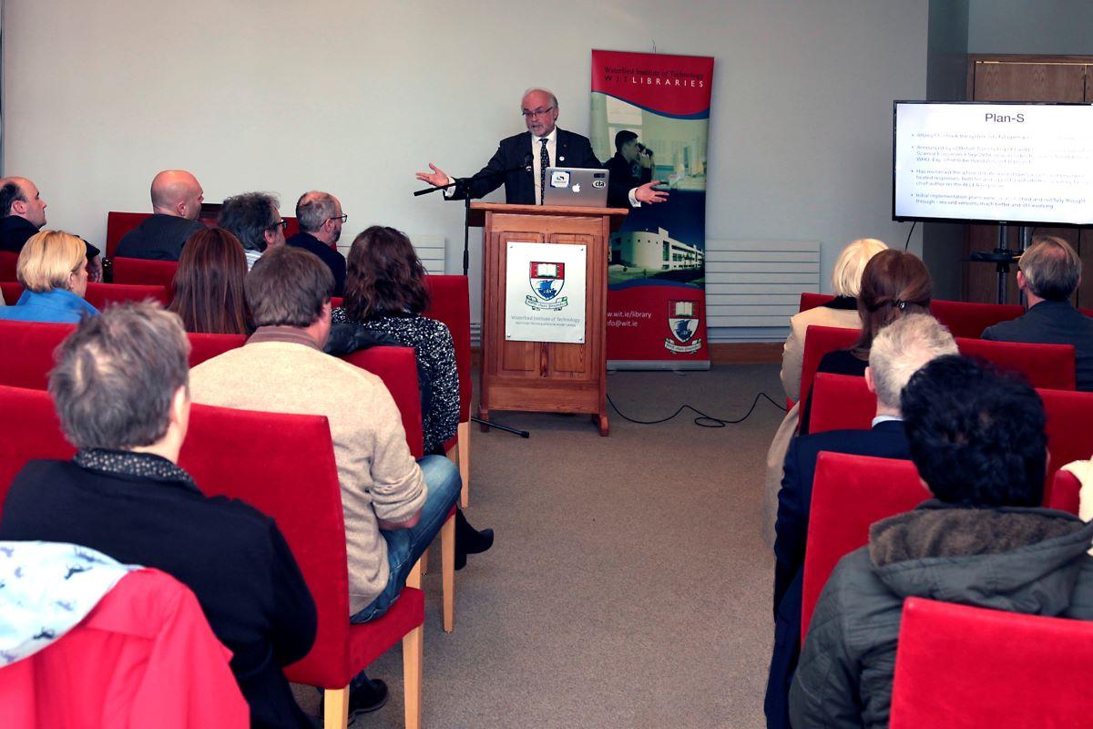 Prof Luke Drury from the Dublin Institute for Advanced Studies