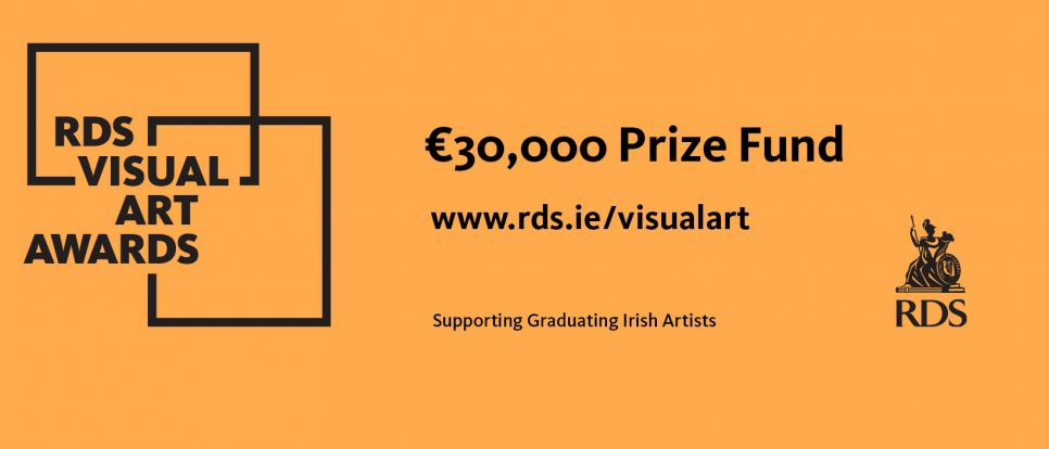 The RDS Visual Art Awards provides supports and exposure for graduating Irish visual artists and normally consists of two parts; a competition and an exhibition.