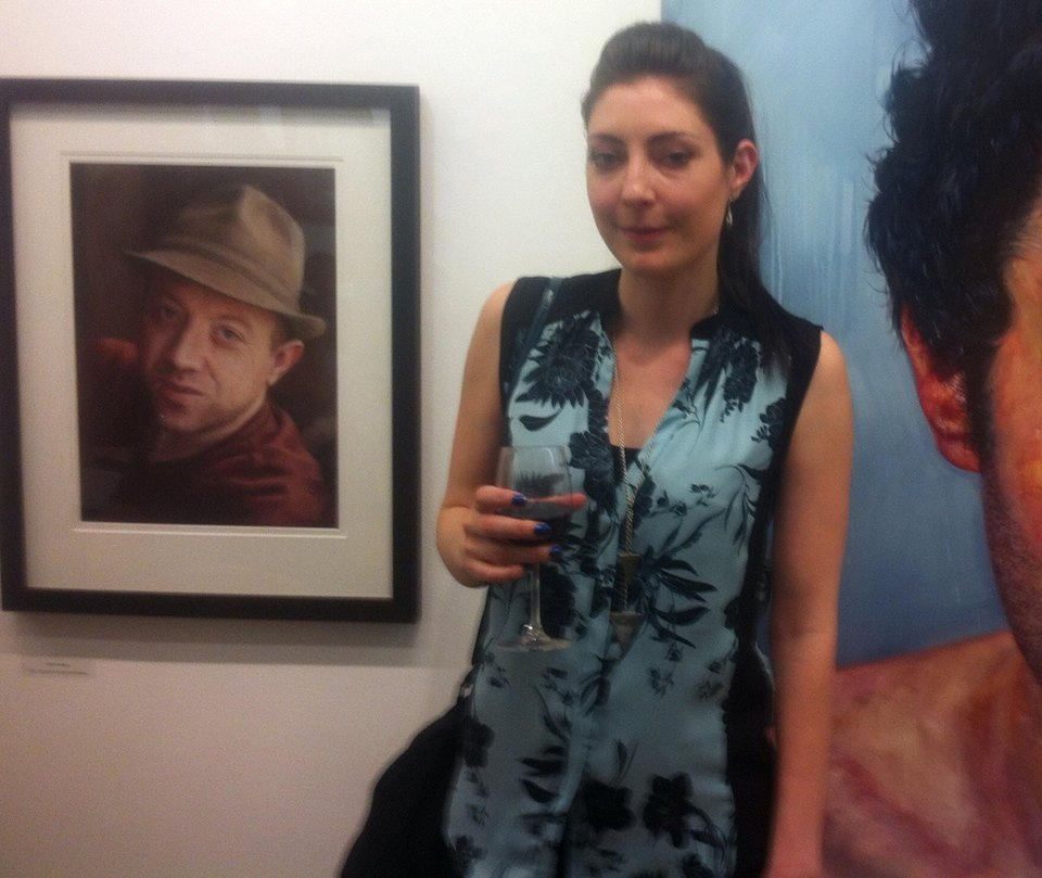 Pictured at the opening night of the RHA Exhibition on 26th May is Deborah Reidy from New Ross