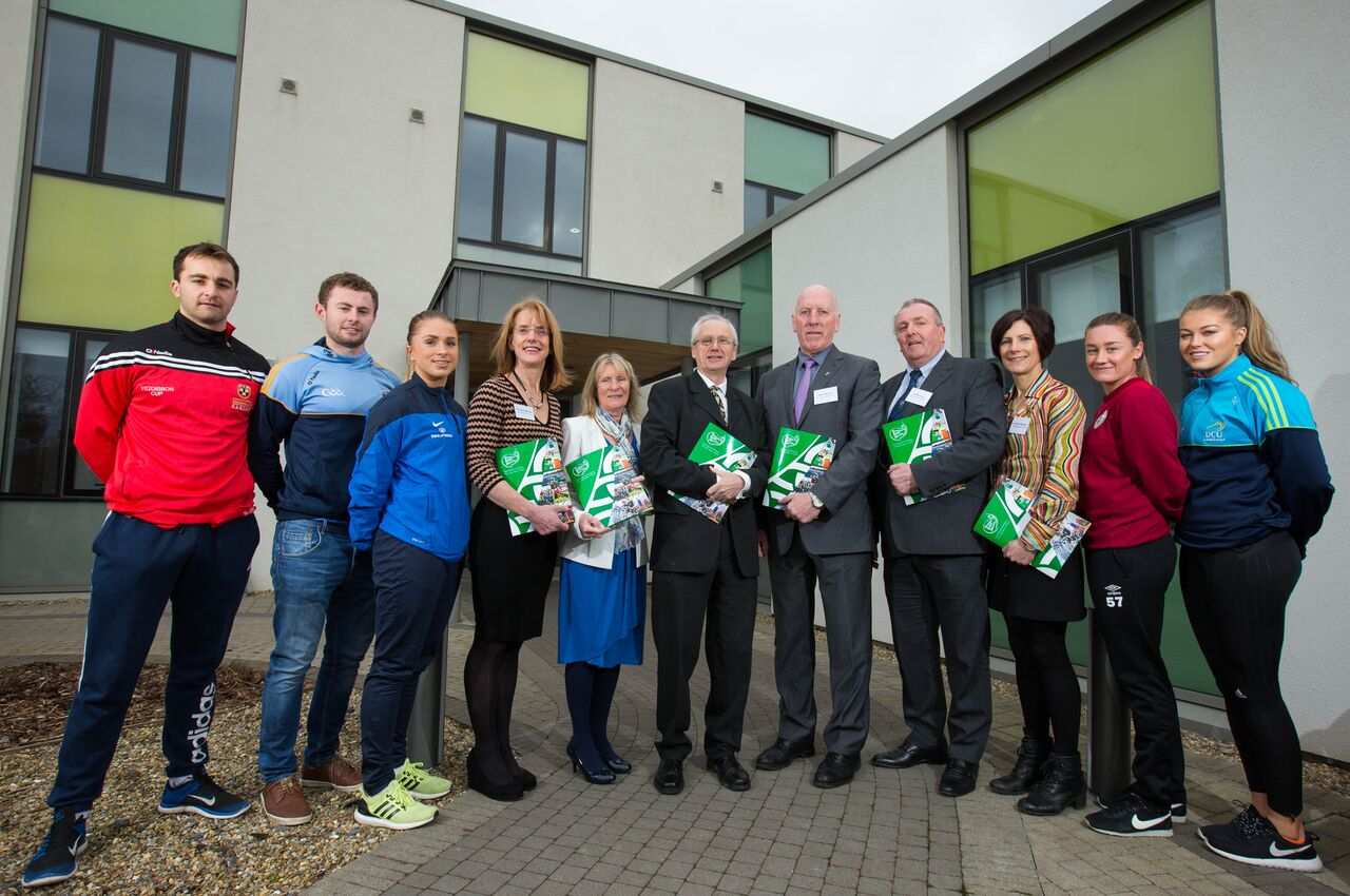Pictured at the launch is Niamh Murphy, WIT, third from right