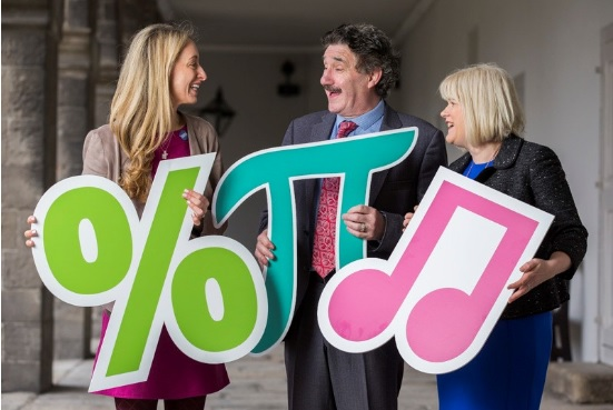 Minister John Halligan announced €50,000 funding for WIT's STEM outreach hub, Calmast