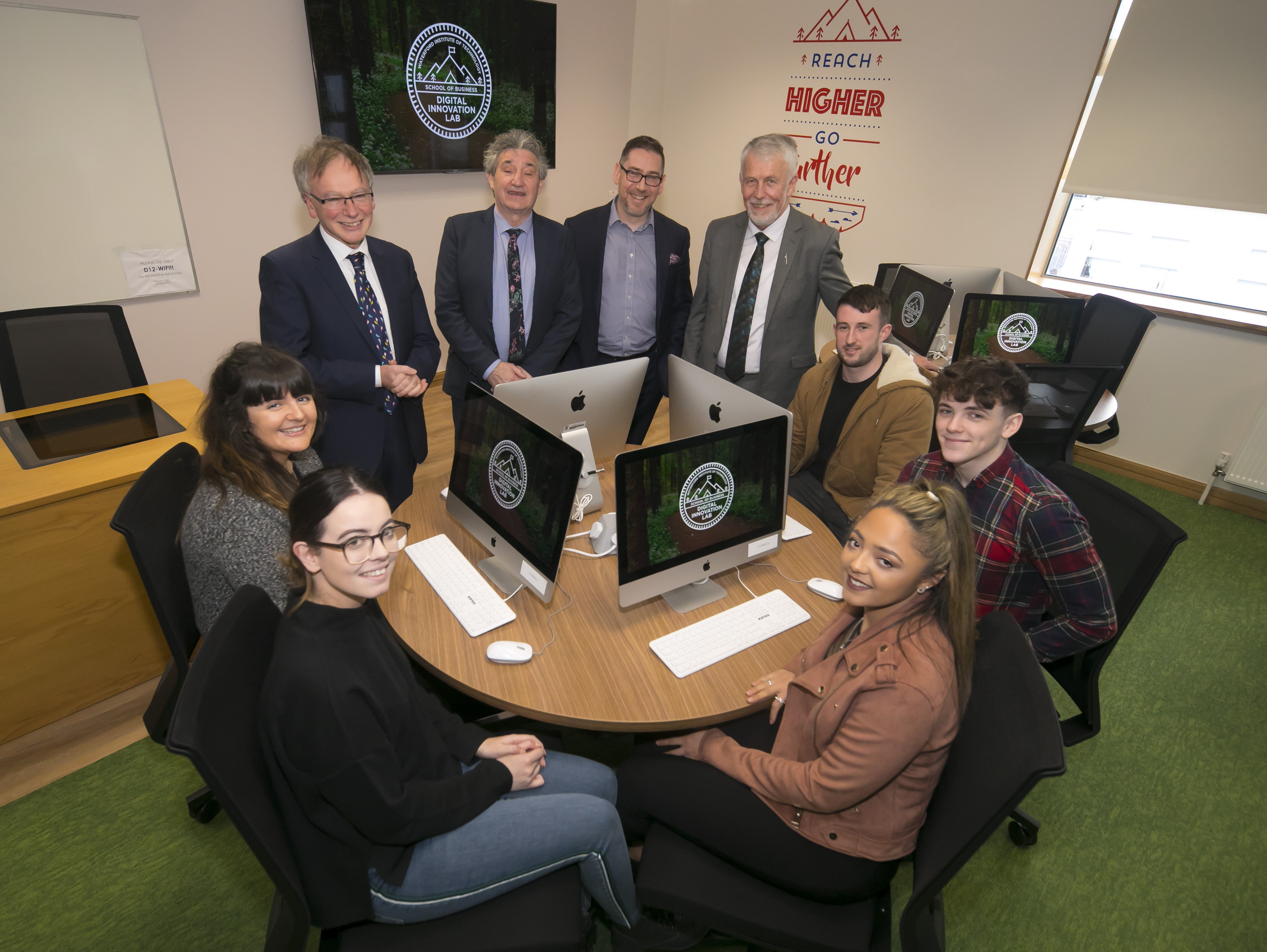 Salesforce is proud to be working with Waterford Institute of Technology to sponsor a new Digital Innovation Lab for digital marketing students within the Institute's School of Business.