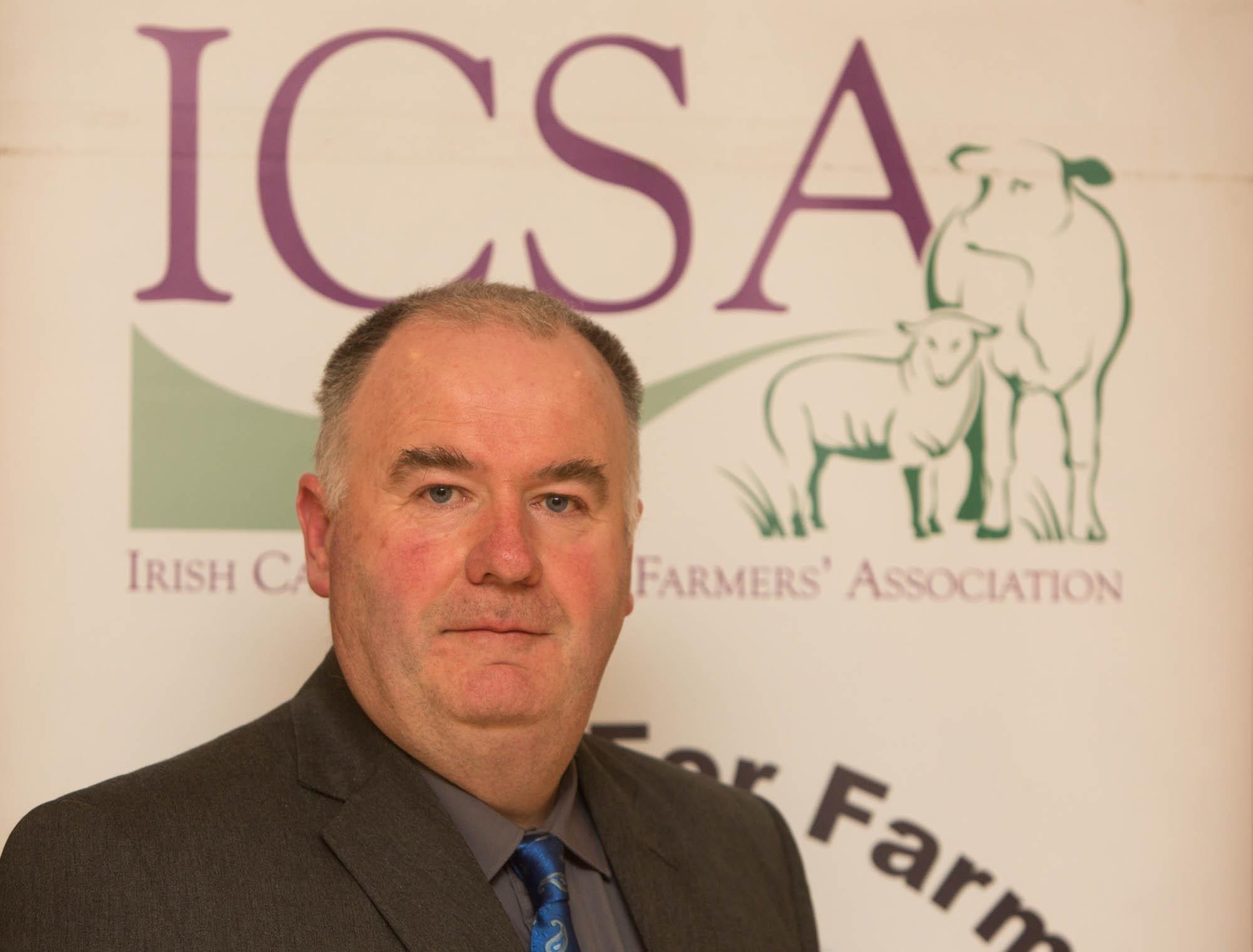 ICSA Rural Development Chairman, Seamus Sherlock