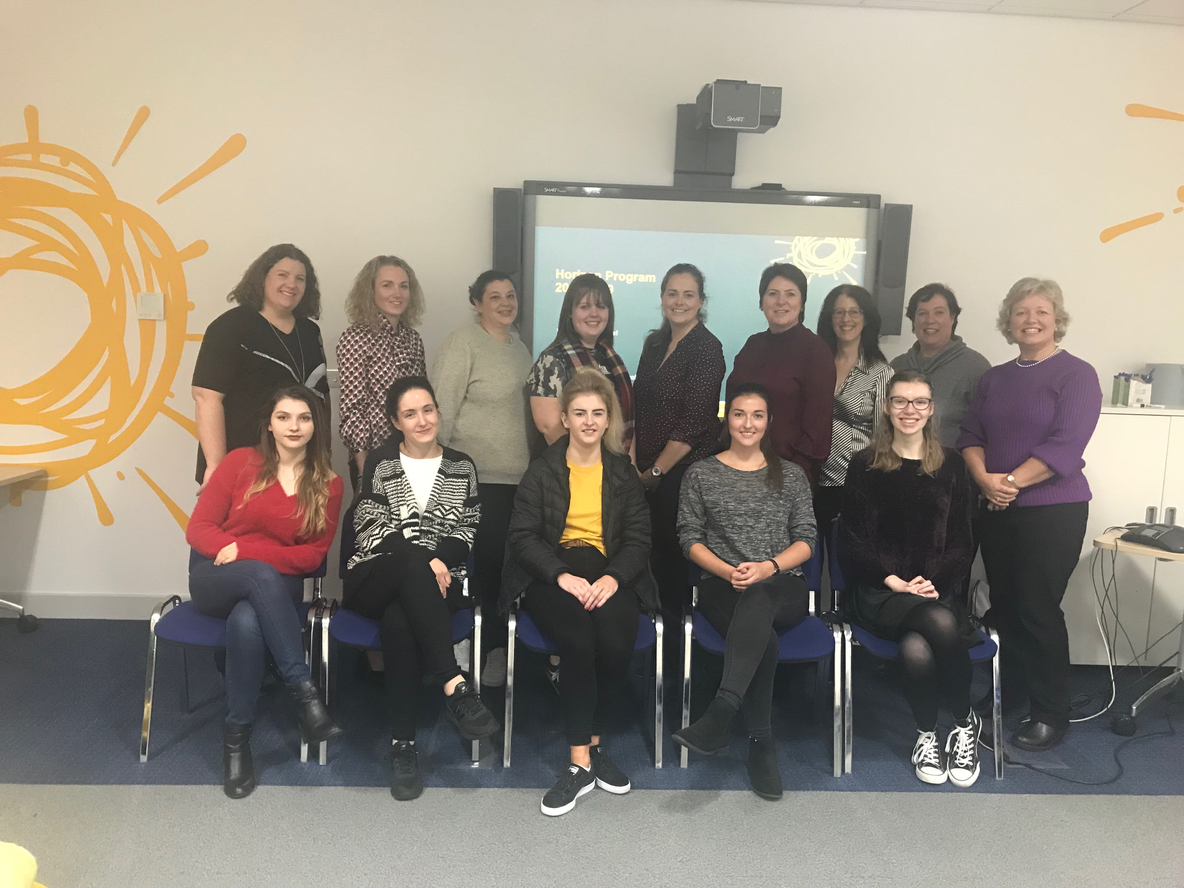 Sun Life Horizon Programme launch for 2018 with WIT computing students