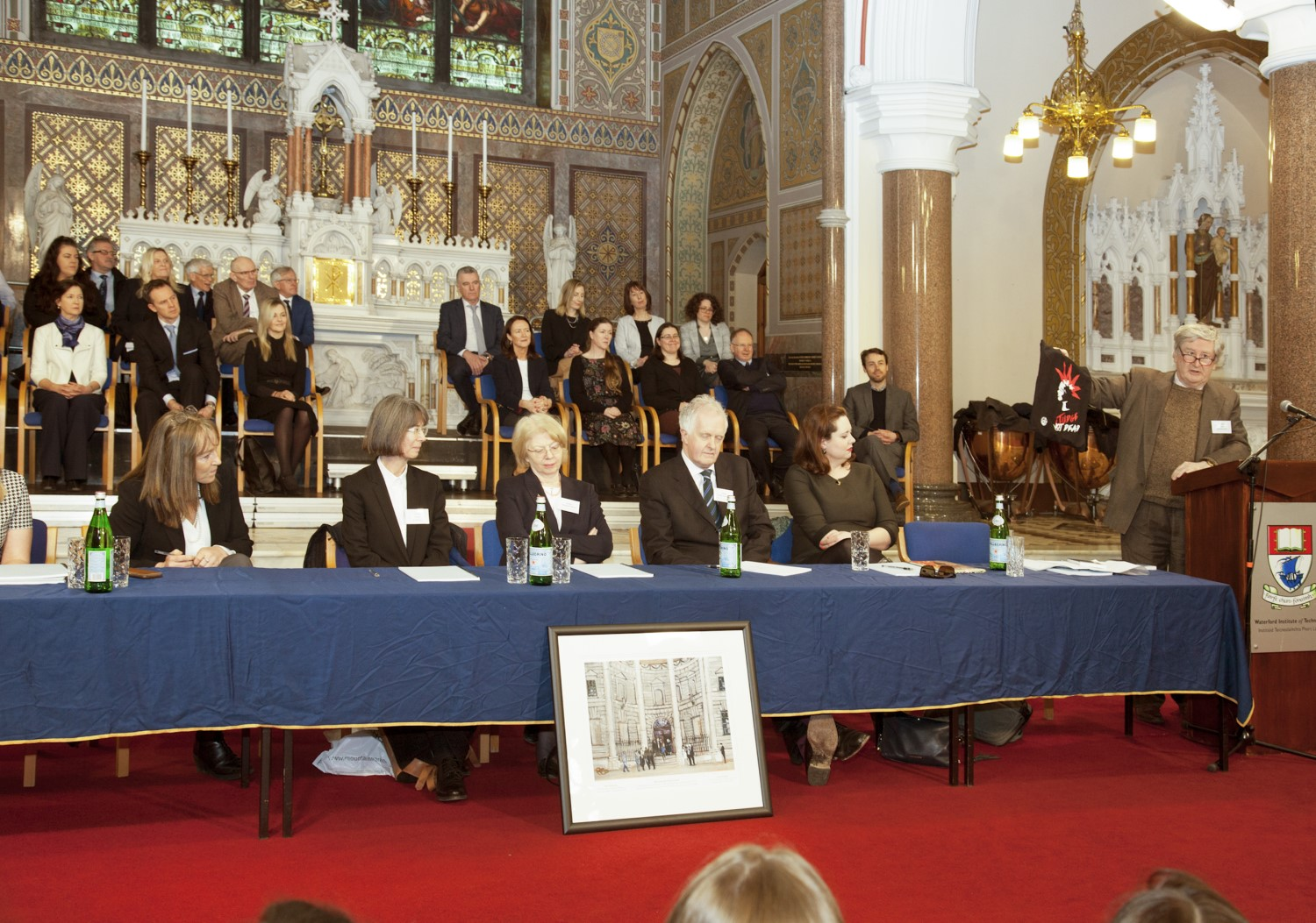 The event was organised in conjunction with the Office of the Chief Justice to mark the historic occasion of the Supreme Court's first sitting in Waterford