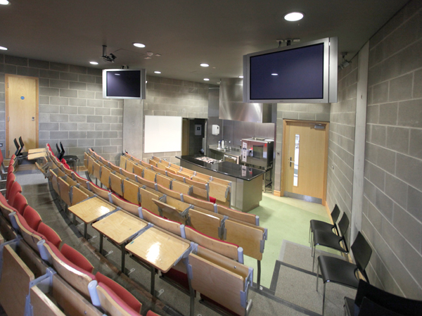 Pictured is the cooking training room at WIT
