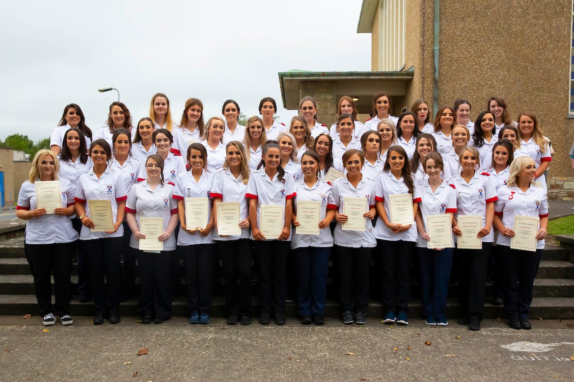 The WIT General Nursing class of 2018