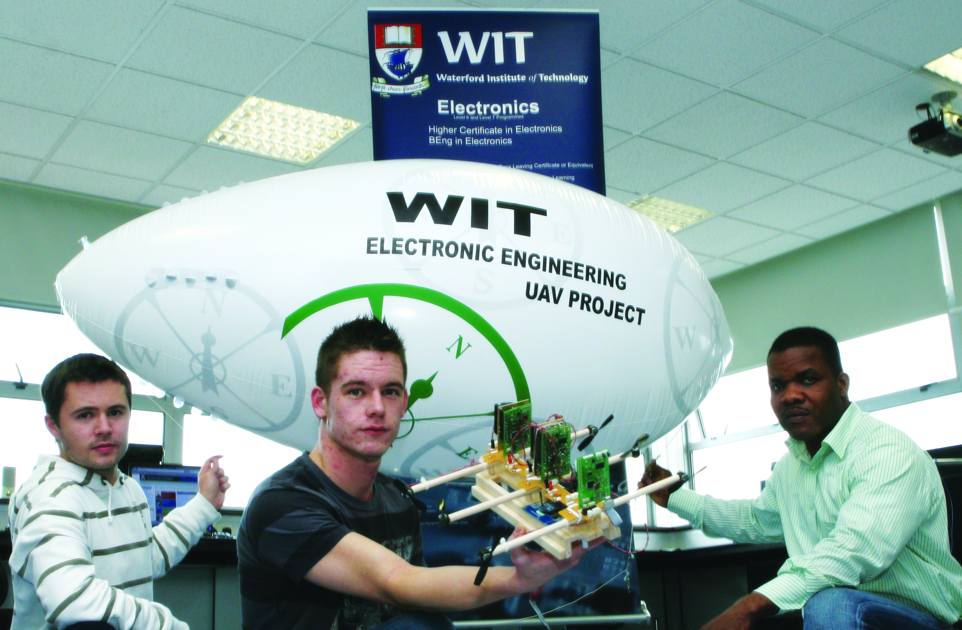 Peter McGorry, Higher Certificate in Engineering in Electronic Engineering (WD010)