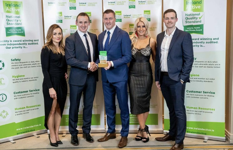 Anna Hawrylak, WIT Arena, John Windle, WIT Arena Facility, Manager, Barry Walsh, Chairman Ireland Active, Michelle Freyne, WIT Arena, Aaron Grant, WIT Arena, Sales Manager