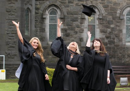 Dierdre Cleary, BSc (Hons) in Psychiatric Nursing, Mags Keane, BA (Hons) in Visual Art & Susan Sayers, MA in Art & Heritage Mgt