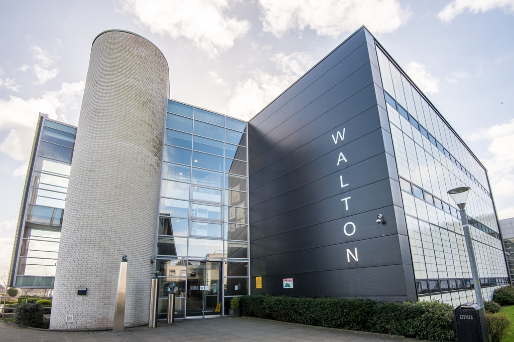 The Walton IT building where many computing classes take place